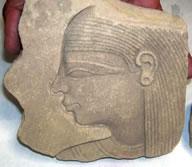 Exhiben pieza egipcia recuperada en México