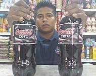 Llama Salud a disminuir consumo de Coca Cola Zero