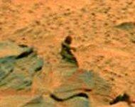 Difunden fotografía de supuesto `humanoide` marciano