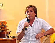 Declara Montaner `su amor´ a gobernadora de Zacatecas