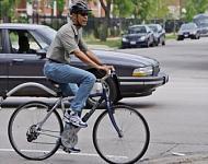 Obama, sobre ruedas