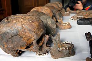 Hallan en Alemania restos humanos de la Edad de Bronce