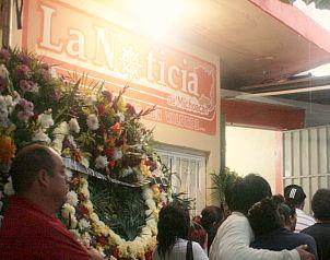 Despiden al periodista asesinado en Guerrero