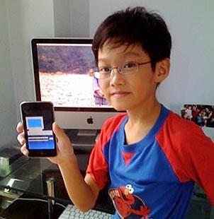 Niño de 9 años desarrolla aplicación para iPhone