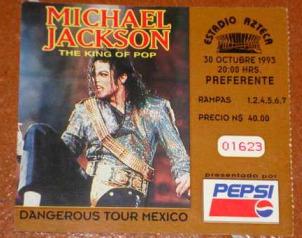 Cuando Michael Jackson visitó México