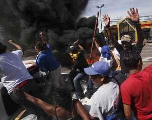 Presidente de Honduras llama a resistencia