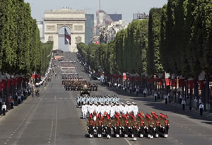 Francia celebra <i>El día de La Bastilla</i>