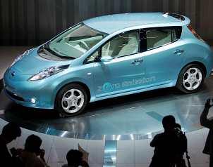 Nissan presenta nuevo auto eléctrico