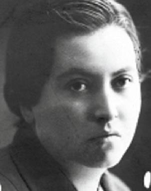 Gabriela Mistral joven