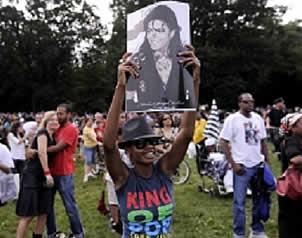 Celebran a Michael Jackson en NY