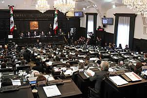 Comparece gabinete de Seguridad ante Senado