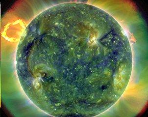 Extraña a científicos tamaño del Sol