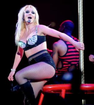 Britney Spears hace de las suyas en hotel de Disneyland