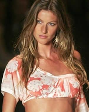 Gisele B�ndchen fue la modelo mejor pagada en 2009