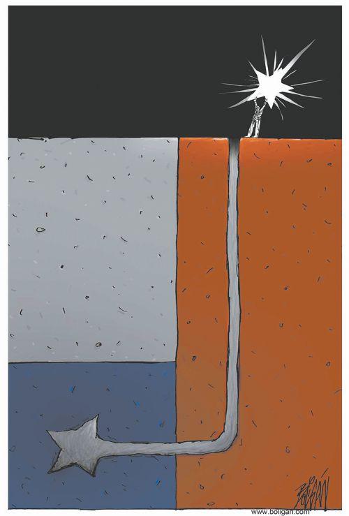 El último minero by Bóligan