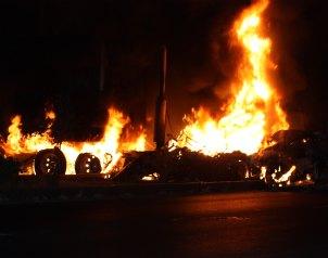 Ataques desquician a Michoacán por la posible detención de un líder de la 'Familia Michoacana' Michoacan02