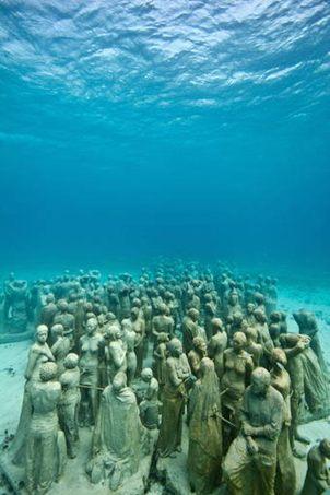LOS MEJORES MUSES SUBACUATICOS DEL MUNDO. CAN CUN UNO DE ELLOS!!! Subacuatico1Nota
