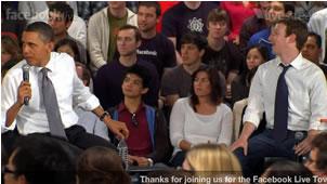 Obama responde preguntas en vivo desde facebook