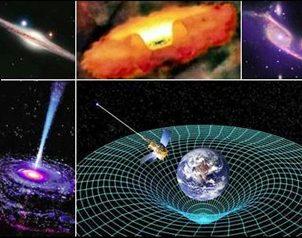 Resultado de imagen de Mini agujeros negros que atraviesan la Tierra a diario