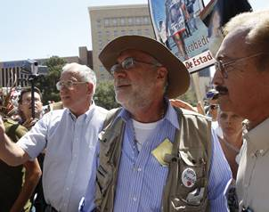 Itinenrario de la marcha en Juarez y mas acarreados 00SICILIA-REUTRES