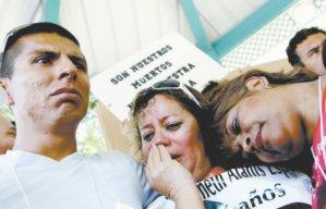Familias de v�ctimas rompen el silencio