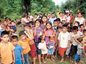 Se refugian en Tabasco familias guatemaltecas
