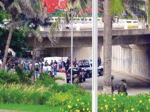 Veracruz: tiran a 35 ejecutados en zona tur�stica
