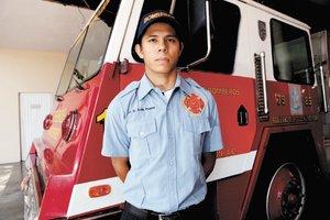 bombero intoxicado con maria