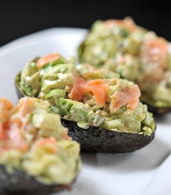 Cocina al natural aguacates rellenos de salm n taringa - Cocina al natural ...