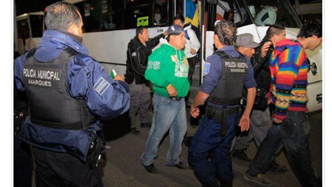 Un aficionado de las Águilas del América murió tras una riña con aficionados del cuadro de Querétaro, violencia en el fu Especialqueretaro