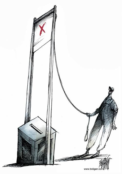 El poder del voto según Ángel Boligán