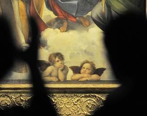 Seg?n Andreas Henning, comisario de la exposici?n, esta pieza de culto, que presenta a la Virgen con