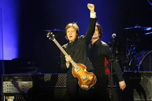 El brit?nico se dio tiempo para recordar a su ex compa?eros de The Beatles que ya no est?n m?s aqu?