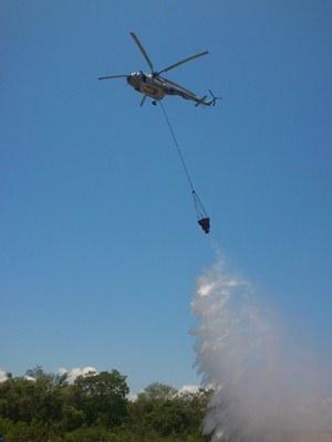 Marina envía 2 helibaldes a Ensenada por incendios. Incendios_marinos_capacitacion