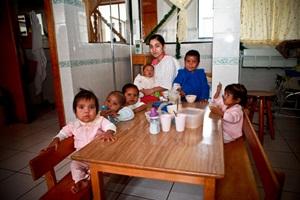 ninos, desnutricion, anemia, menores, comida