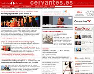 La p?gina en internet del Instituto Cervantes ofrece diversos servicios para la promoci?n de la leng