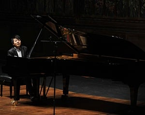 El pianista chino, Lang Lang, en Bellas Artes, donde interpret? obras de Chopin y Liszt