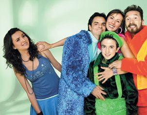 "Debut. ""Bibi"", la niña rara de la serie de televisión en La familia"