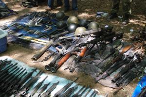 Elementos del Ej�rcito Mexicano decomisaron m�s de 84 granadas de fusil y un lanzagranadas tras un