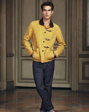 Весна 2013 loewe куртки мужские кожаные
