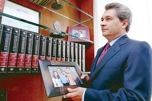En imagen de 2005, Tom?s Yarrington, ex gobernador de Tamaulipas, acusado de ?lavado?