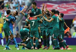 La Selecci�n Mexicana de futbol logr� la medalla de Oro en los Juegos Ol�mpicos de Londres, al vence