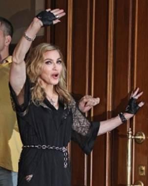 Madonna se encuentra de visita en Moscú