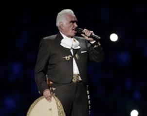 Vicente Fern�ndez se presentar� el 11, 12 y 13 de octubre