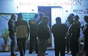 El 8 de agosto, hombres armados mataron a seis personas en el bar El Pachang�n. La PGJEM vincul� a m