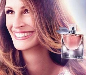 Promociona perfume franc�s