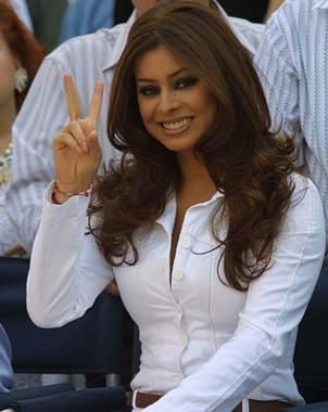 Yadhira Carrillo  La originaria de Aguascalientes dice que los chismes    Yadhira Carrillo 2013