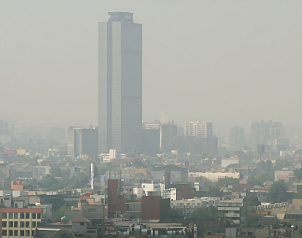 Calder�n deja deuda ambiental en la calidad del aire