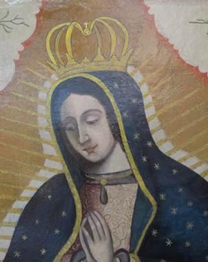 La obra fue elaborada por el artista de origen chileno, Nicol�s Espinoza, en 1762