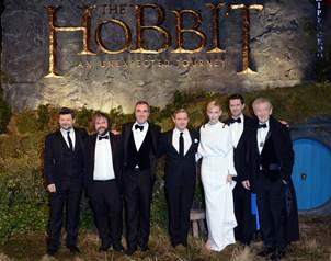 El director y protagonistas de la pel�cula se dieron cita en Leicester Square